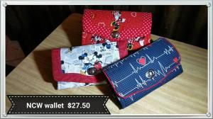 NCW wallet $27.50
