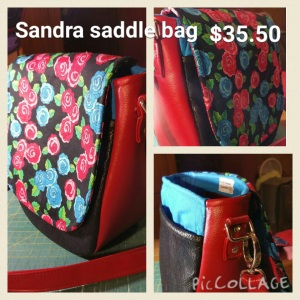 Sandra saddle bag $35.50